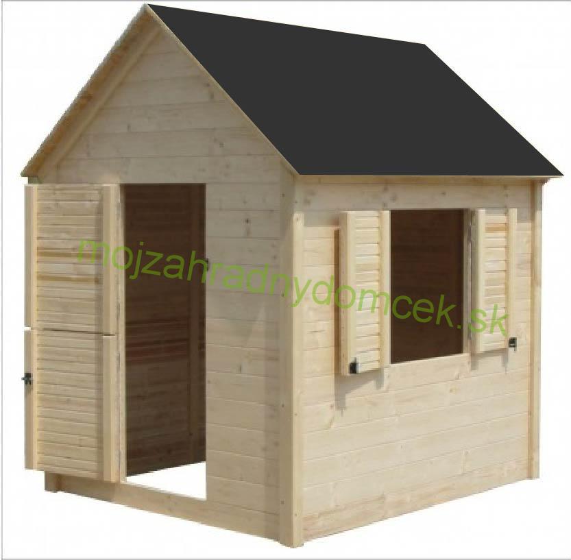 1742190858e84 Domčeky DETSKÉ | Detský drevený záhradný domček NIKO II - 1,7 x 1,7m ...