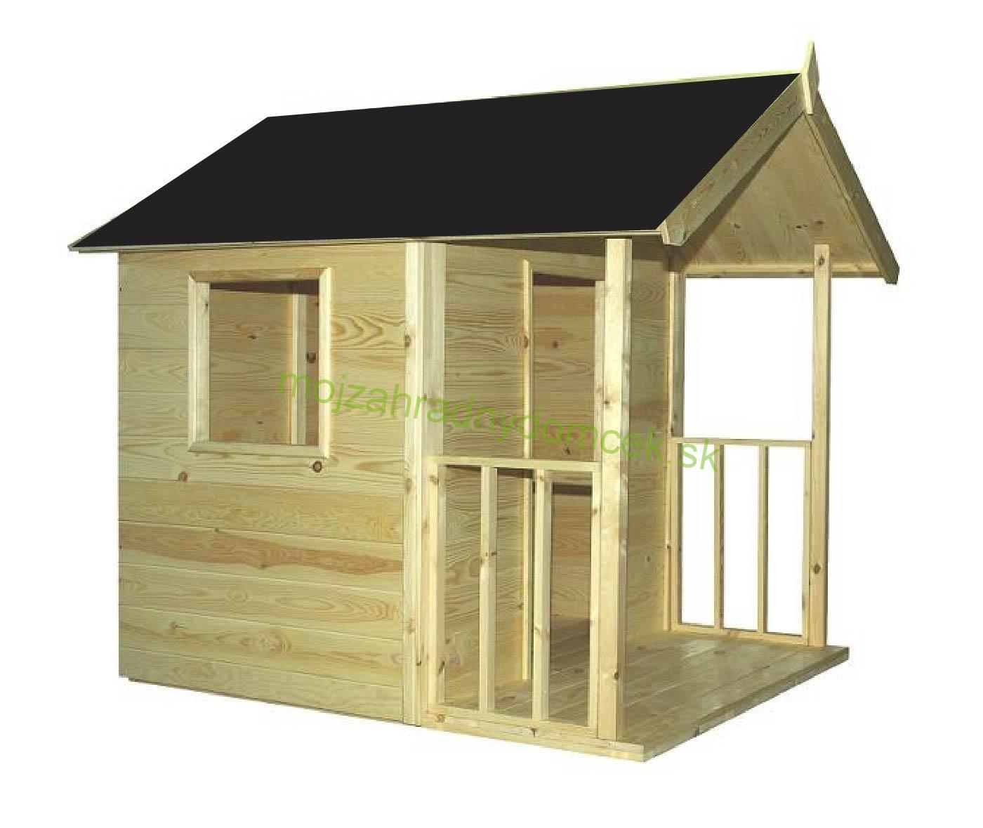 a59be5c91754e Domčeky DETSKÉ | Detský drevený záhradný domček CORY 1,4 x 1,8m ...